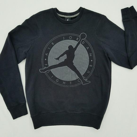 def1bc56668678 Air Jordan Flight Club Sweatshirt Medium Black
